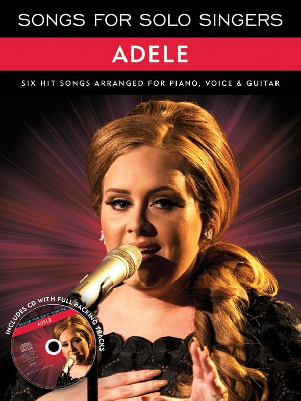 Adele - Songs For Solo Singers - Partition - di-arezzo.com