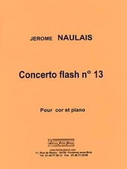 Concerto flash n° 13 - Jérôme Naulais - Partition - laflutedepan.com
