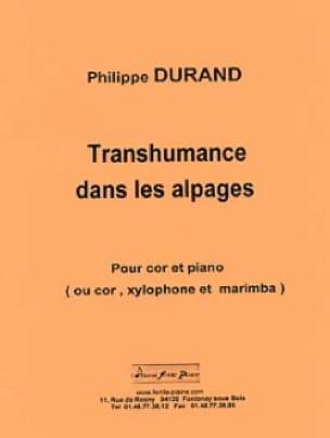 Philippe Durand - Transhumance in the Alps - Partition - di-arezzo.com