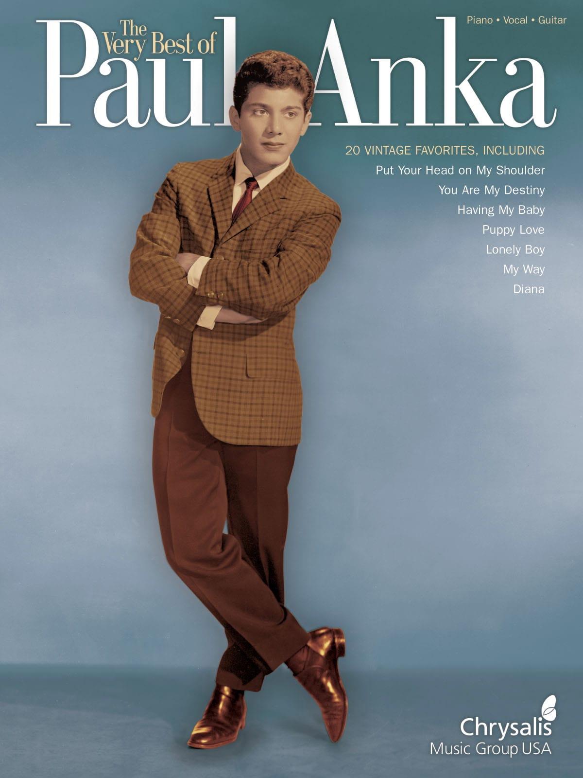 The Very Best Of Paul Anka - Paul Anka - Partition - laflutedepan.com
