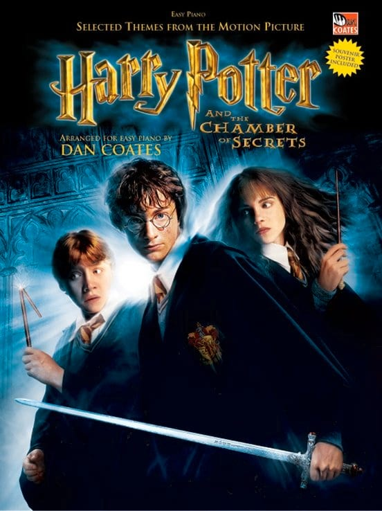 John Williams - Harry Potter and the Chamber of Secrets - Partition - di-arezzo.com