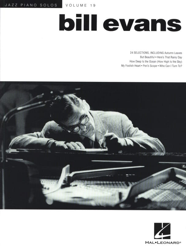 Bill Evans - Solos Series Jazz Piano Volume 19 - Bill Evans - Partition - di-arezzo.co.uk