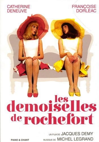 Michel Legrand - The Demoiselles de Rochefort - Partition - di-arezzo.com