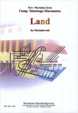 Land - Takatsugu Muramatsu - Partition - Marimba - laflutedepan.com