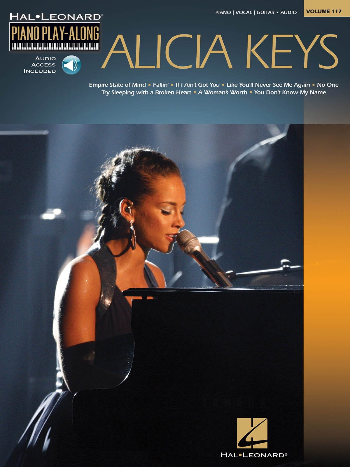 Alicia Keys - Piano Play-Along Volume 117 - Alicia Keys - Partition - di-arezzo.co.uk