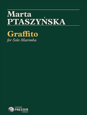 Graffito - Marta Ptaszynska - Partition - Marimba - laflutedepan.com