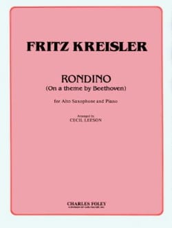 Rondino On a Theme by Beethoven - KREISLER - laflutedepan.com
