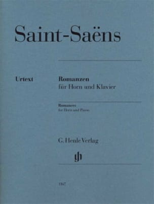 Camille Saint-Saëns - Romanzen opus 36 and opus 67 - Partition - di-arezzo.co.uk