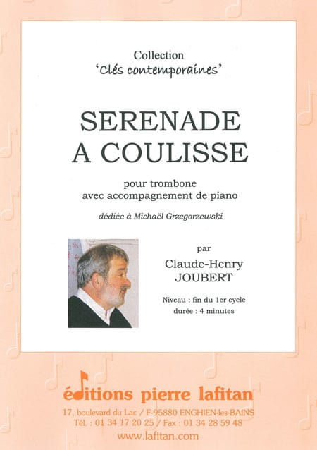 Claude-Henry Joubert - Sliding Serenade - Partition - di-arezzo.co.uk