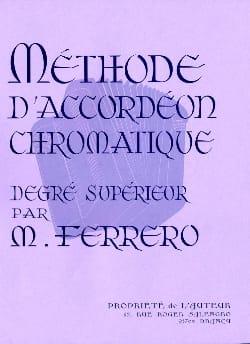 Médard Ferrero - Método de acordeón cromático de mayor grado - Malva - Partition - di-arezzo.es
