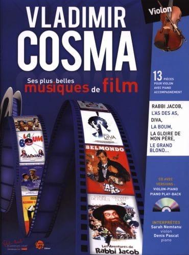 Vladimir Cosma - His Most Beautiful Soundtracks - Partition - di-arezzo.co.uk