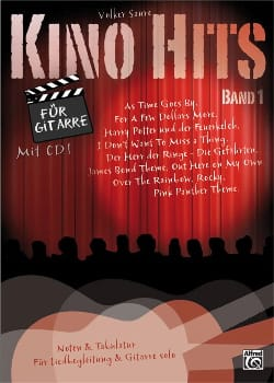 Kino Hits Volume 1 für Gitarre - Partition - laflutedepan.com