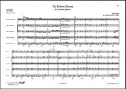 Traditionnel - Go Down Moses - Partition - di-arezzo.co.uk