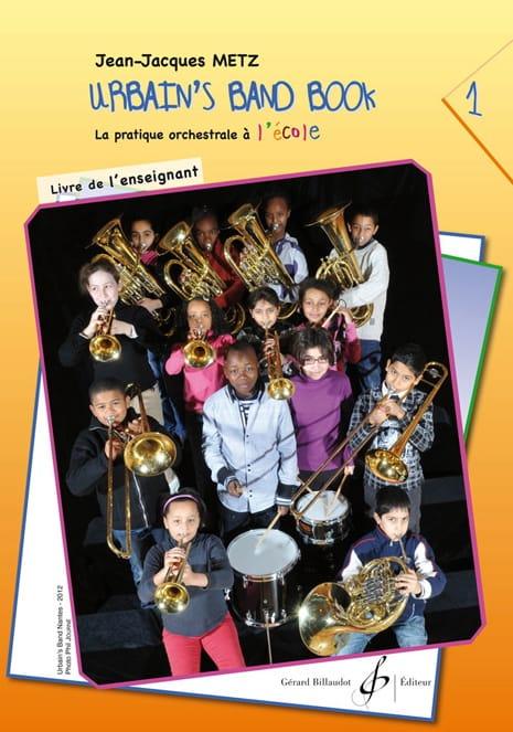 Urbain's Band Book Volume 1 - Livre de l' Enseignant - laflutedepan.com