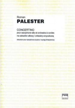 Concertino - Roman Palester - Partition - Saxophone - laflutedepan.com