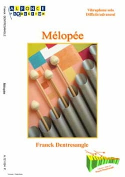 Mélopée - Franck Dentresangle - Partition - laflutedepan.com