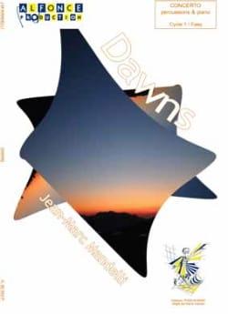 Dawns - Concerto - Jean-Marc Mandelli - Partition - laflutedepan.com