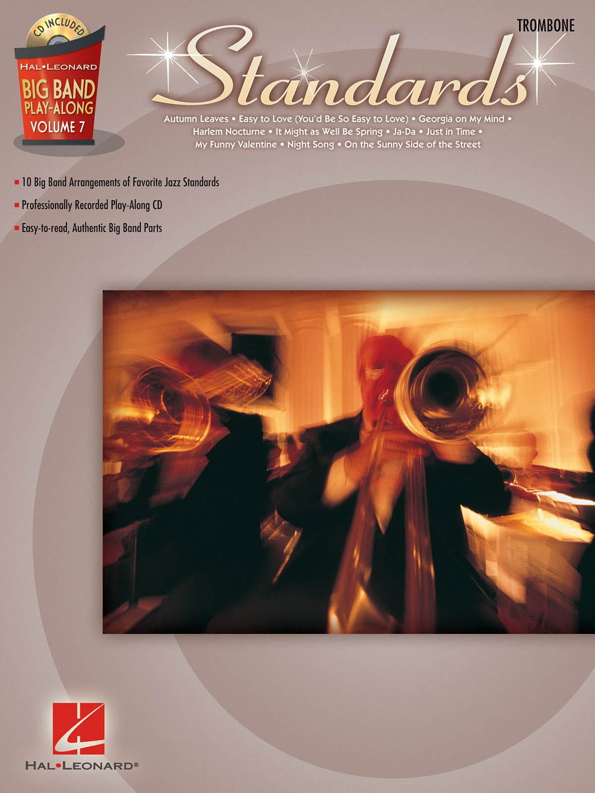 Big Band Play-Along Volume 7 - Standards - laflutedepan.com
