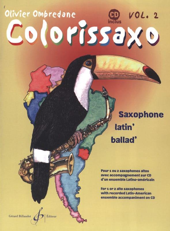 Olivier Ombredane - Colorissaxo - Volumen 2 - Partition - di-arezzo.es