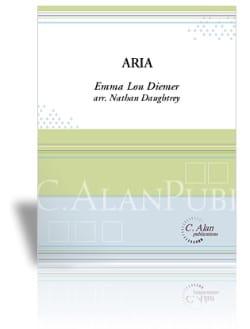 Aria - Emma Lou Diemer - Partition - laflutedepan.com