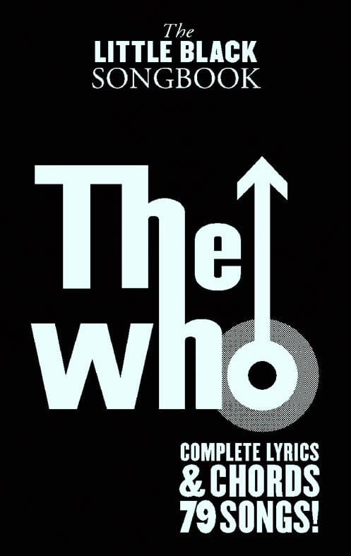 The Little Black Songbook - The Who - Partition - laflutedepan.com