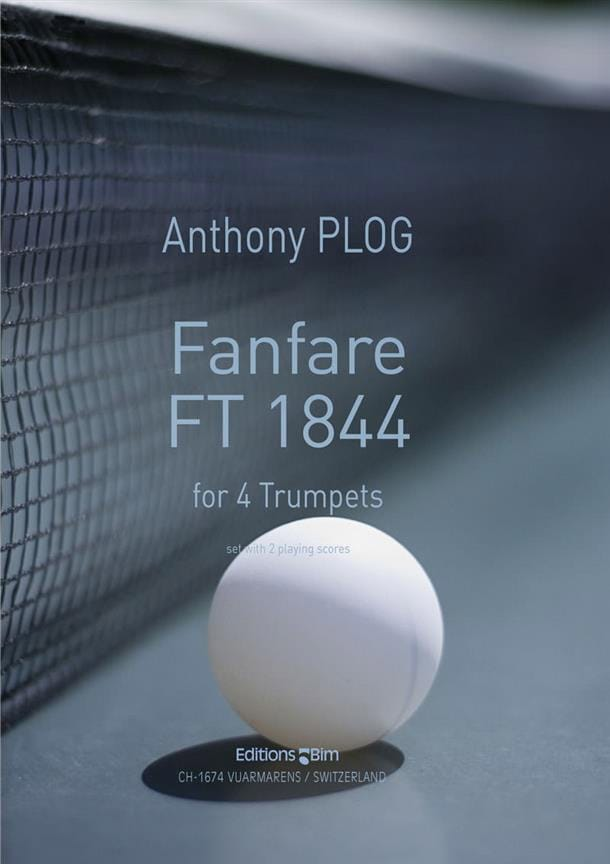 Fanfare FT 1844 - Anthony Plog - Partition - laflutedepan.com