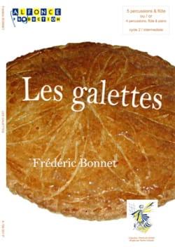 Les galettes - Frédéric Bonnet - Partition - laflutedepan.com
