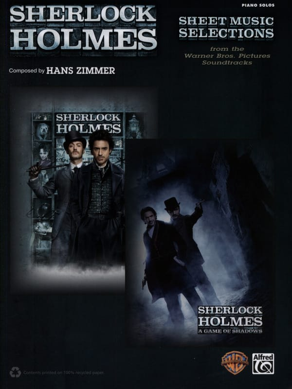 Hans Zimmer - Sherlock Holmes - Musique de film - Partition - di-arezzo.fr