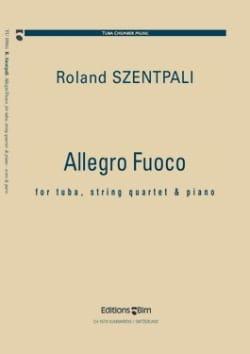 Allegro fuoco - Roland Szentpali - Partition - laflutedepan.com