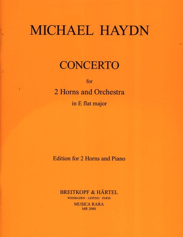 Michael Haydn - Concerto en Mib Majeur pour 2 Cors - Partition - di-arezzo.fr