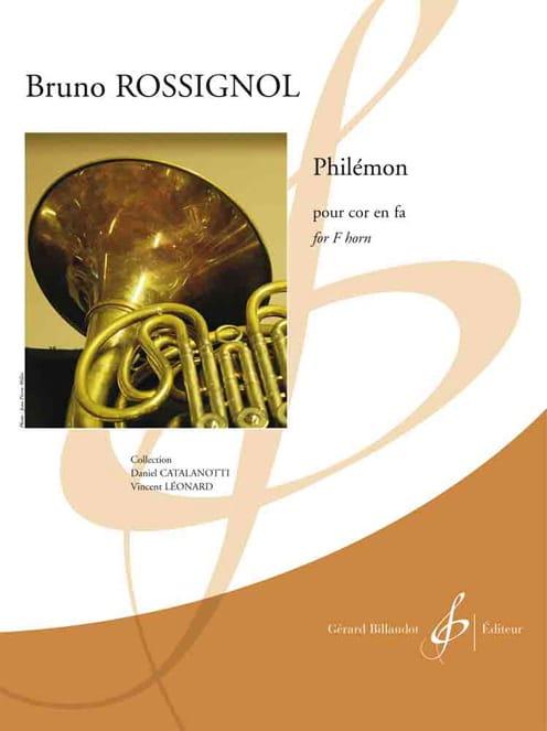 Philémon - Bruno Rossignol - Partition - Cor - laflutedepan.com