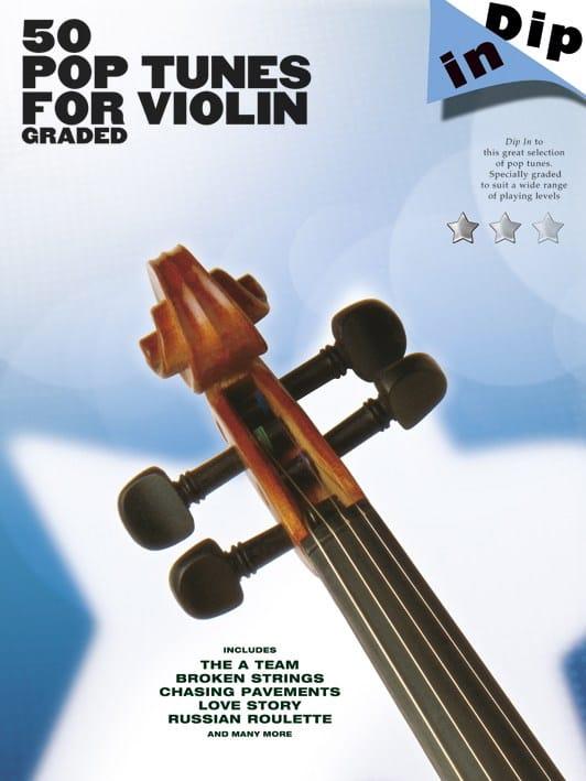 50 Pop tunes for violin graded - Dip in - laflutedepan.com