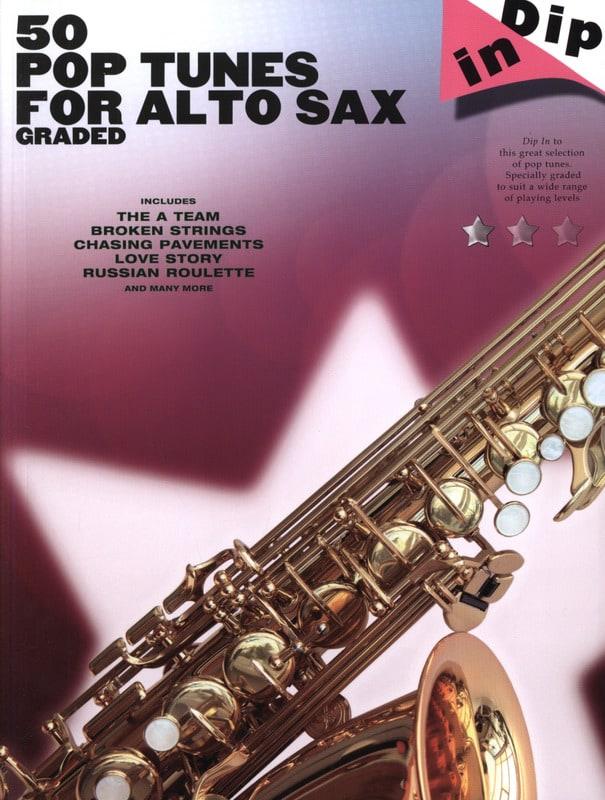50 Pop tunes for alto saxophone graded - Dip in - laflutedepan.com