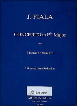 Concerto en Mib majeur - Josef Fiala - Partition - laflutedepan.com
