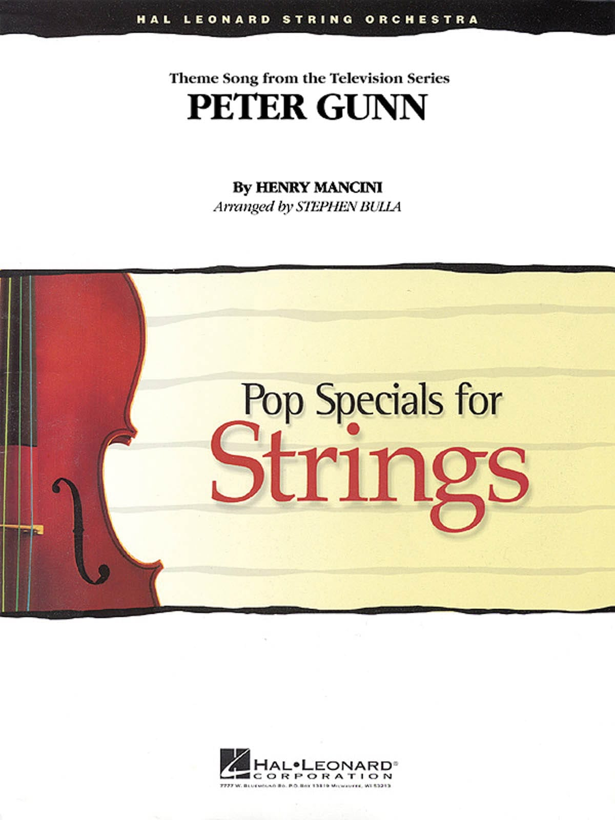 Peter gunn - Pop specials for strings - MANCINI - laflutedepan.com