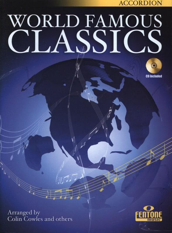 World famous classics - Partition - Accordéon - laflutedepan.com