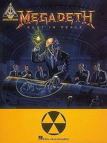 Rust in Peace - Megadeth - Partition - Pop / Rock - laflutedepan.com