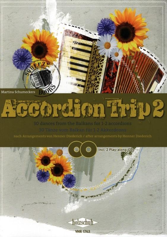 Accordion Trip 2 - Martina Schumeckers - Partition - laflutedepan.com