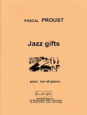 Jazz gifts - Pascal Proust - Partition - Cor - laflutedepan.com