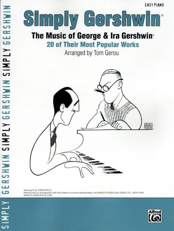 George and Ira Gershwin - Simply Gershwin, the music of George - Ira Gershwin - Partition - di-arezzo.com