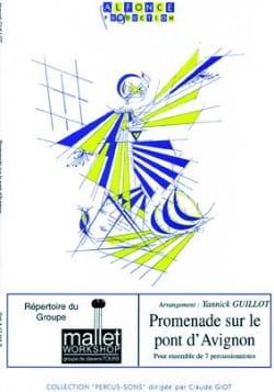 Promenade sur le pont d' Avignon - Yannick Guillot - laflutedepan.com