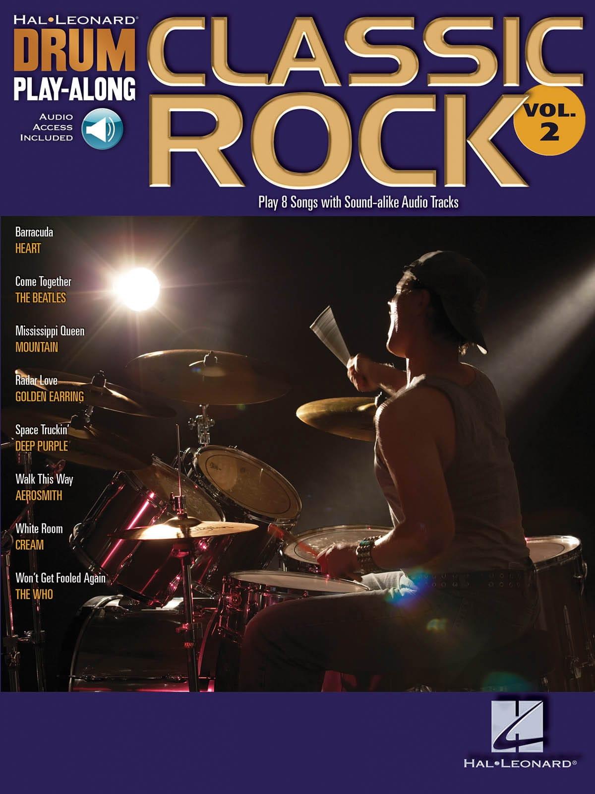 Drum play-along volume 2 - Classic rock - laflutedepan.com