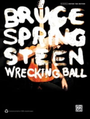 Bruce Springsteen - Wrecking Ball - Partition - di-arezzo.co.uk