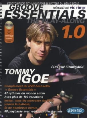 Groove Essentials 1.0 - The Play-Along - Tommy Igoe - laflutedepan.com