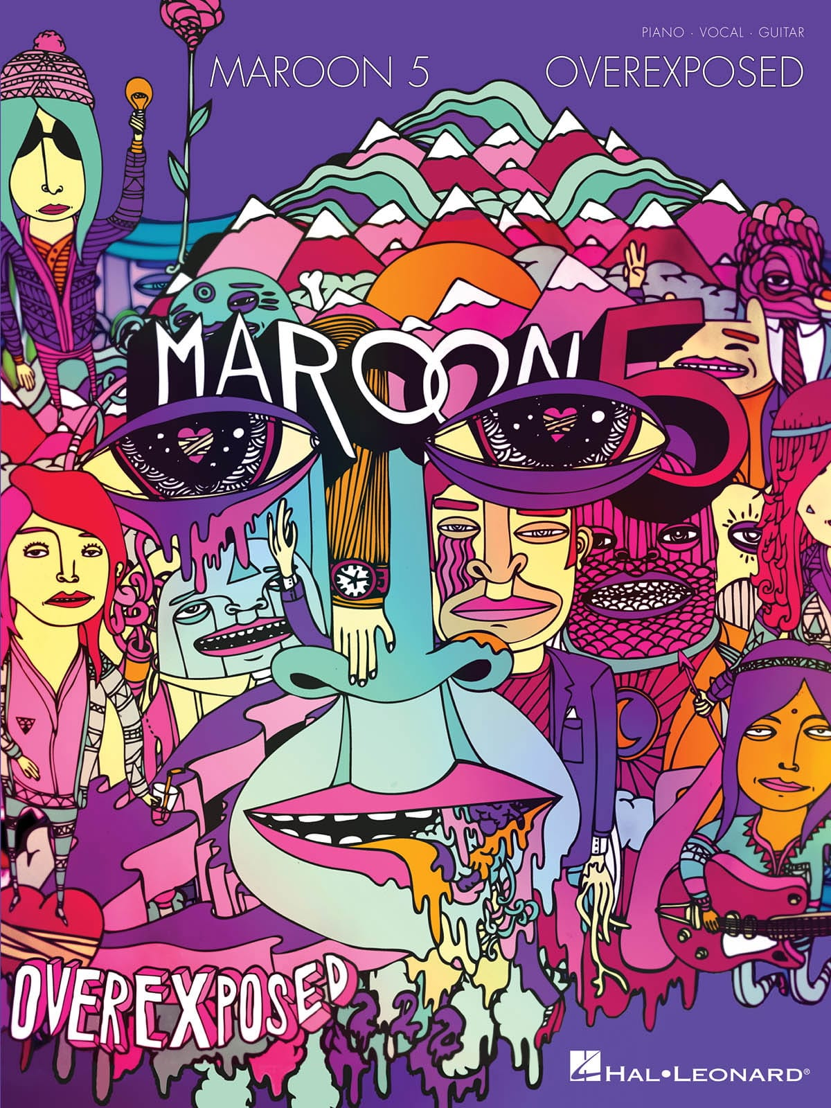 Overexposed - Maroon 5 - Partition - Pop / Rock - laflutedepan.com