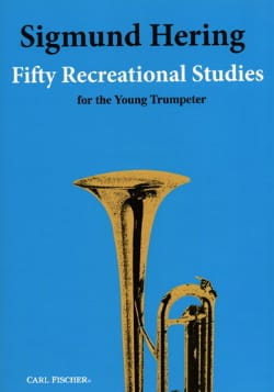 Sigmund Hering - Fifty Recreational Studies for the Young Trumpeter - Partition - di-arezzo.com