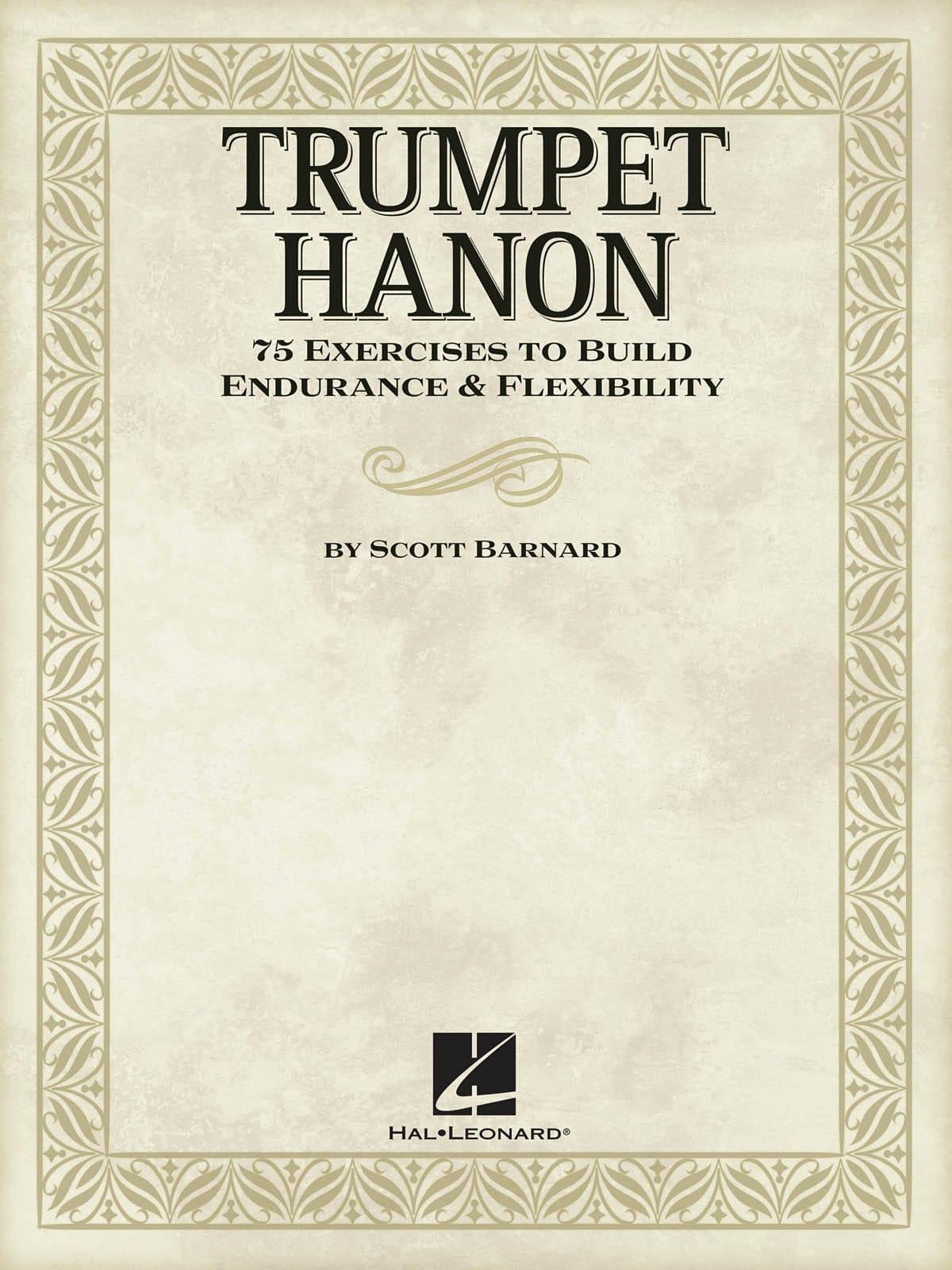 Trumpet Hanon - 75 Exercices to build endurance & flexibility - laflutedepan.com