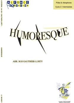 Humoresque opus 101 N° 7 - DVORAK - Partition - laflutedepan.com