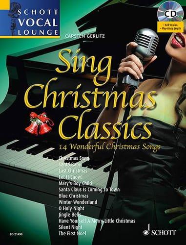 Noël - Sing christmas classics - 14 Wonderful christmas songs - Partition - di-arezzo.fr