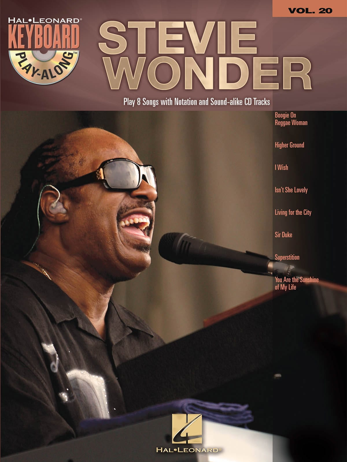 Stevie Wonder - Keyboard Play-Along Volume 20 - Stevie Wonder - Partition - di-arezzo.com